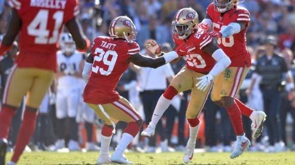NFL 2019, 6a settimana: 49ers al quinto successo consecutivo, per i Rams tre ko di seguito