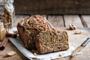 Banana bread con yogurt
