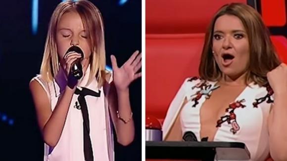 La voce della bambina lascia basiti i giudici: come è possibile cantare così a soli 10 anni?