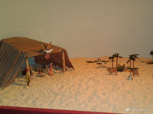 Un presepe nel deserto