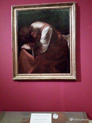 """""""Maddalena Addolorata"""", opera del Caravaggio"""