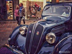 Bianchi S9 del '37, un pezzo di storia a Stelle sul Liston
