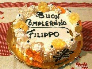 Buon compleanno Filippo